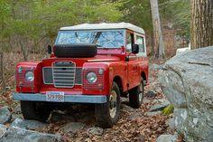 Red Land Rover by JHeislerPhotography JonathanHeisler1@gmail.com 516-456-3702