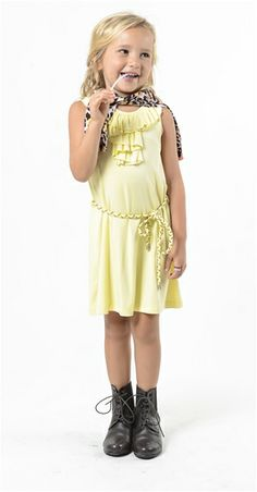 cab01d89b Imoga Ruffle Front Jersey Dress from Imoga - USA at Pumpkinheads Los Angeles  With Kids,