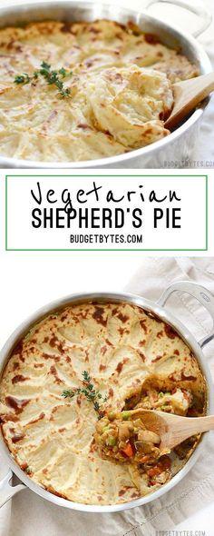 Vegetarian Shepherd's Pie - BudgetBytes.com