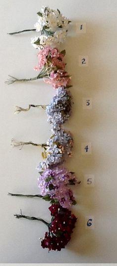 Silk Artificial Hydrangea Picks by Modern Romance