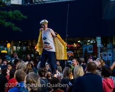 First Mate Stu at The Hip Strip Block Party 2013!  Selvedge MADE.  Photo by Jonathan Qualben