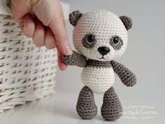 Amigurumi Panda Bear Crochet Pattern : Amigurumi panda bear pattern kristi tullus spire ee wzory