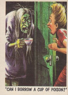 Funny Monsters (Topps, 1959) Jack Davis art