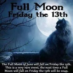 Friday 13th full moon