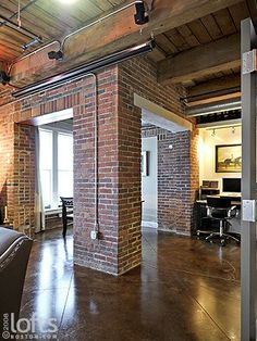 South Shore Decorating Blog: Manhattan Loft Living in Soho and Tribeca