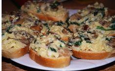 Chlebíčky, tak trochu jinak Baked Potato, Muffin, Tacos, Food And Drink, Appetizers, Baking, Breakfast, Ethnic Recipes, Parties