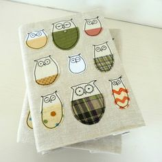 Owls In Woolly Jumpers Notebook SALE