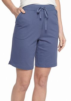 Kim Rogers® Knit French Terry Shorts