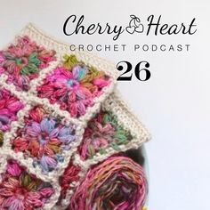 Podcast 26 is up! I'll show you my Anthro inspired mitts, do a twirl in the granny square skirt and show you the start of the granny cardi too! Also mentions for the wonderful: @herbstblatt_regina @a_homespun_house @sewsweetviolet @thewoolbarn @lanaboushop @potterandbloom #BetterOutThanStash #cherryheartpodcast