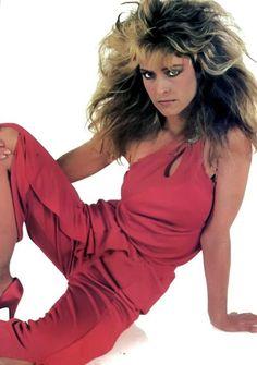 Super Sexy Farrah Fawcett in red pantsuit. Corpus Christi, Santa Monica, Red Pantsuit, Kate Jackson, Cheryl Ladd, Farrah Fawcett, Jaclyn Smith, Female Actresses, Texas