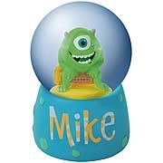 Monsters Inc. Mike Water Globe