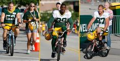 2013 Green Bay Packers training camp opens today in Titletown. Go Pack Go!