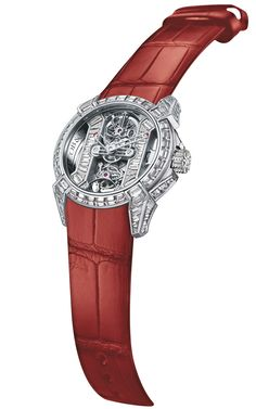 Jacob & Co.'s Epic X collection Timepiece in White Gold set with Baguette Diamonds #JacobArabo #JacobandCo. #Epic