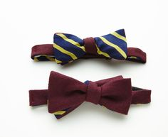 Waldorf Bow Tie by Everett. via The Cools