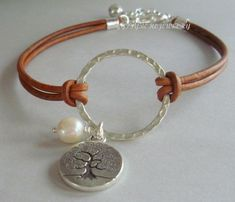 MEASURE your WRIST accurately - To pick the right size in the drop down menu as I custom the bracelet to fit Your Wrist (See my resizing Leather Cord Bracelets, Cute Bracelets, Gemstone Bracelets, Leather Jewelry, Metal Jewelry, Beaded Jewelry, Silver Bracelets, Homemade Bracelets, Color Plata