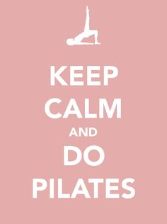 i don't look like that when i do pilates