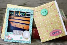 Mini Album Inspiration {...AND Giveaway Winners Announced!}
