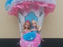 Schultüte Zuckertüte Eiskönigin Elsa und Anna