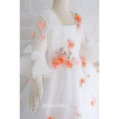 No photo description available. Honey Bee Kids, Belle Wedding Dresses, Baby Kiss, Kids Outfits, Flower Girl Dresses, Fancy, Gowns, Photo And Video, Instagram