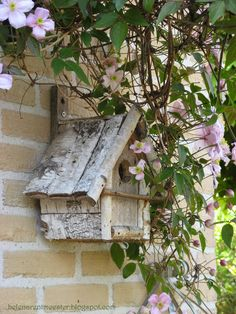 put a birdhouse on the front of the house