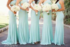 Turqouise Bridesmaids Dress