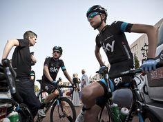 Bradley Wiggins Joe Dombrowski Team Sky | Pro Cycling | Tour of Oman | Latest News | Scott Mitchell - Oman Stage Five Gallery