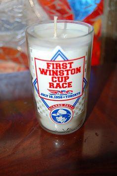 Pepsi Richard Petty Candle