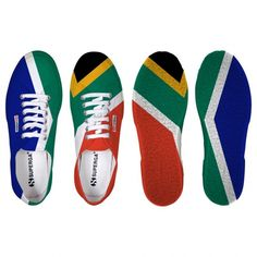 Superga SOUTH AFRICAN FLAG Sneakers