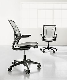 Diffrient World® Office Chairs in Black - Office Chairs - Office - Room & Board