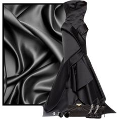 Luxe Series 5/5 - Silk by cassandra-cafone-wright on Polyvore featuring мода, Giuseppe Zanotti and Badgley Mischka