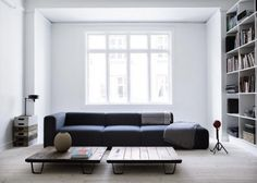Yvonne Koné apartment Copenhagen | Remodelista. those tables are very interesting