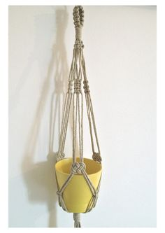 Shipping time: 3-4 weeks. Macrame plant hanger 18 inches . It is made of cotton cord. I measured the length of the hanger from the top node to