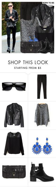 """1247. Celebrity Style: Kate Bosworth"" by amber-nicki-rose ❤ liked on Polyvore featuring Retrò, La Garçonne Moderne, Proenza Schouler and Pull&Bear"