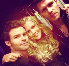 Daniel Gillies, Claire Holt, and Joseph Morgan Behind the Scenes of the Originals Cast Photoshoot