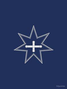 'Eureka Flag' Chiffon Top by hitpointer Eureka Flag, Eureka Stockade, Flag Design, Chiffon Tops, Rebel, Southern, Prints, Bunting Design