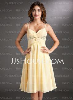 Homecoming Dresses - $116.99 - A-Line/Princess Sweetheart Knee-Length Chiffon Homecoming Dress With Ruffle Beading Sequins (022020701) http://jjshouse.com/A-Line-Princess-Sweetheart-Knee-Length-Chiffon-Homecoming-Dress-With-Ruffle-Beading-Sequins-022020701-g20701