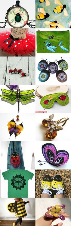 Bugs wakes up in the spring...:) by Laima on Etsy--Pinned with TreasuryPin.com