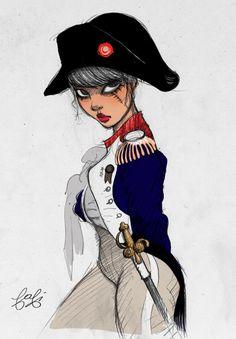 Female Napoleon <3