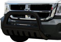 Dodge Dakota Accessory - Steelcraft Dodge Dakota Black Powdercoat 3 Bull Bar