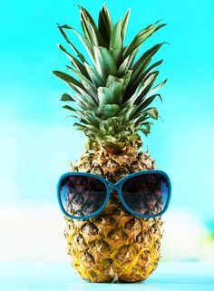 Summer fun with pineapple recipes. July is the best month for pineapples , so why not try a sweet & sour pork and pineapple stir fry, a pineapple upside-down cake or a sweet potato & pineapple burger- delicious!