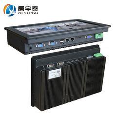 Industrie-pc mit CPU Inter N2800 1,86 GHz touchscreen 12 zoll HDMI 2 * RS232 dual RJ-45 die Auflösung 1280x800 2 GB DDR3