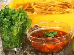 Salsa mangue, coriandre et limette