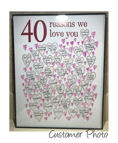 40th Birthday Gifts For Woman