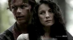 """Jamie and Claire of Starz """"Outlander""""."""