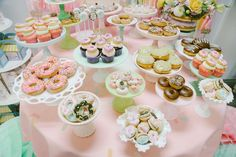 Donut theme Birthday Party Ideas   Photo 2 of 199