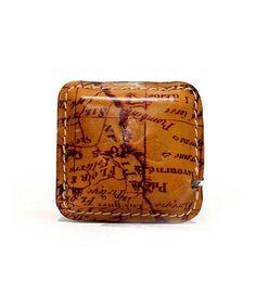 b20c94f19b0 Patricia Nash Righello Leather-Covered Measuring Tape Desk Supplies, School  Office, Office Accessories
