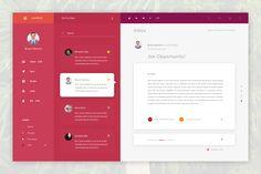 Mail client ui concept