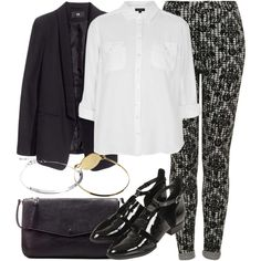 Untitled #592 by kyleezavalax on Polyvore featuring Topshop, H&M, Zara and ASOS