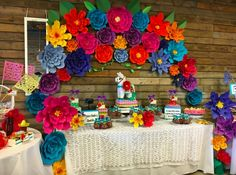 Quinceanera Party Planning – 5 Secrets For Having The Best Mexican Birthday Party Mexican Birthday Parties, Mexican Fiesta Party, Fiesta Theme Party, Party Themes, Party Ideas, Mexican Candy Table, Mexican Desserts, Theme Parties, Mexican Themed Weddings