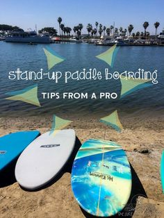 Stand up paddle boarding tips from Huntington Beach instructor Rocky McKinnon.  #SUP #standuppaddleboard #outdoorwomen | For your rashguard needs, check out www.platinum-sun.com